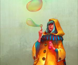bubbles, Loish, and art image