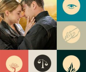 book, tobias, and divergent image