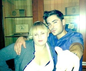 zac efron and rebel wilson image
