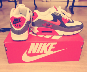 air max, nike, and red image