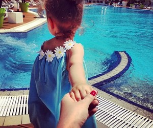 cute, baby, and summer image