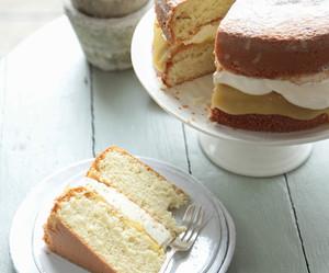 cake, food, and cream image