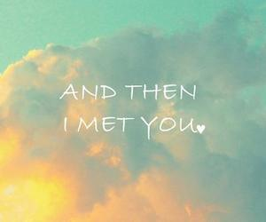love, meet, and you image