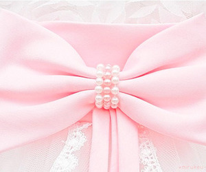 accessory, baby pink, and beads image