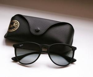 black, fashion, and glasses image