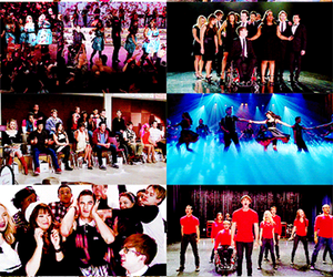glee, glee cast, and new directions image