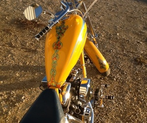 chopper, choppers, and motorcycle image