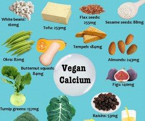 vegan and food image