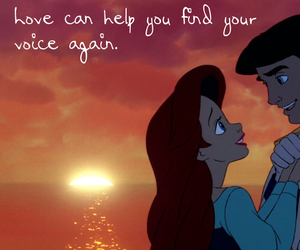 the little mermaid, princess ariel, and prince eric image