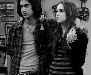 black and white, victorious, and bade image