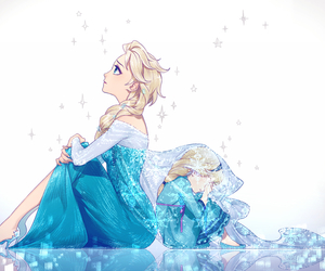 anime, disney, and frozen image