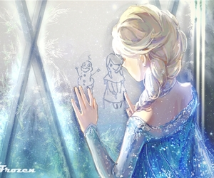 alone, let it go, and olaf image