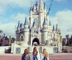 disney, friends, and castle image