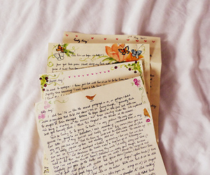 girly, Letter, and lovely image