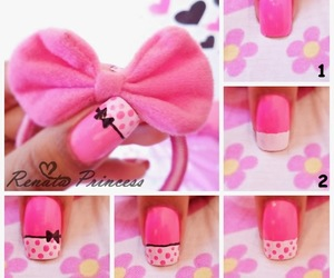 pink and tutorial image
