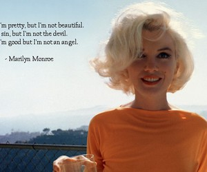 qoute, inspiring, and Marilyn Monroe image