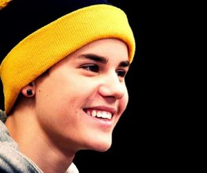 justin bieber and smile image