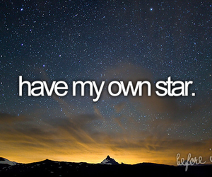stars, before i die, and sky image