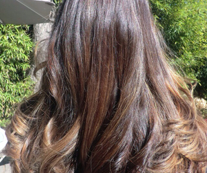 beauty, brown hair, and hairstyles image