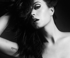 b&w, katy, and photoshoot image