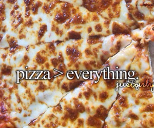 pizza, food, and girly image