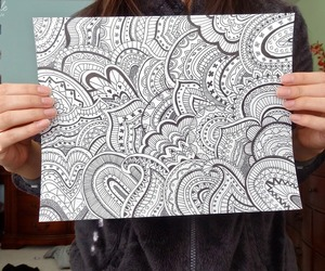 tumblr, art, and doodle image