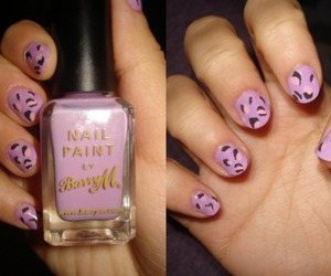 barry m, leopard print, and nail art image