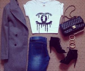 coat, style, and women image