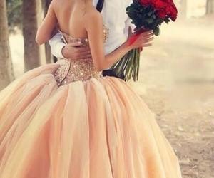 ball, beautiful, and couple image