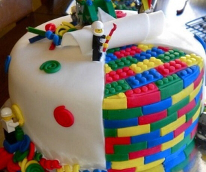 cake, colours, and food image