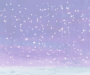 purple, stars, and wallpaper image