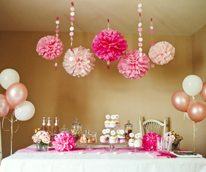 birthday, party, and girly image