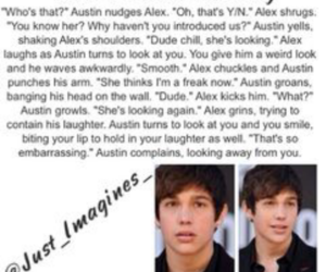 funny, imagine, and austin mahone image