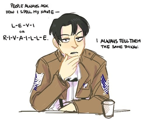 answer, levi, and aot image