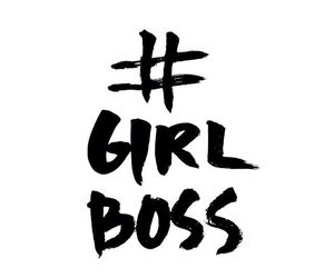 quotes, boss, and girl boss image