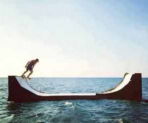 skate, sea, and ocean image