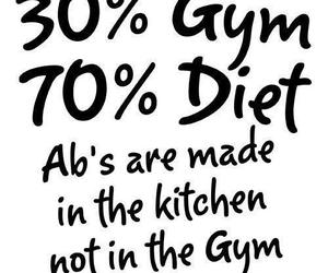 diet, gym, and fitness image