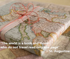 quote, book, and travel image