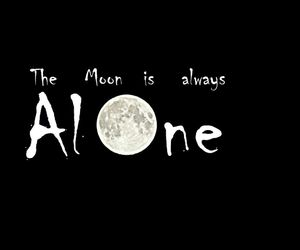 alone, qoutes, and sayings image