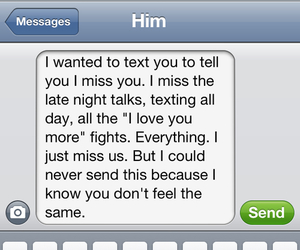 love, him, and text image