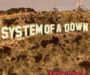 system of a down, toxicity, and soad image