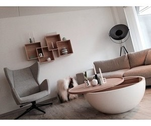 apartment, Arne Jacobsen, and decorations image