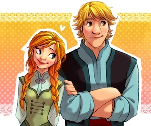 true love, kristoff, and anna and kristoff image