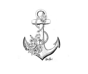 anchor, beautiful, and black image