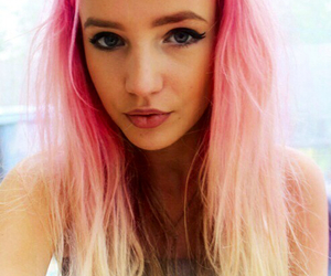 amazing, hair, and pink image