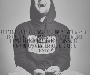 black and white, swag, and mac miller image
