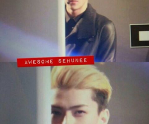 exo, stare, and maknae image