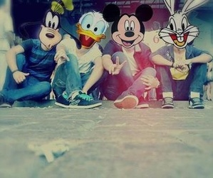 disney, mickey, and friends image