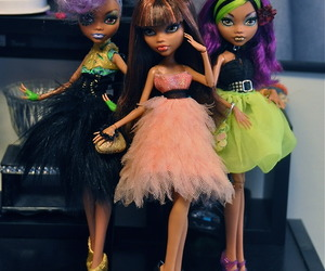 dress, style, and monster high image