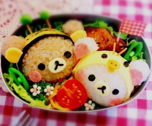 food, cute, and rilakkuma image